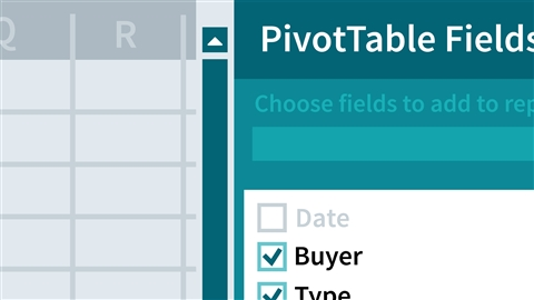 course illustration for Excel: PivotTables for Beginners
