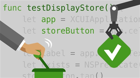 course illustration for Automated Testing in Xcode