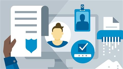 course illustration for CySA+ Cert Prep: 4 Security Governance
