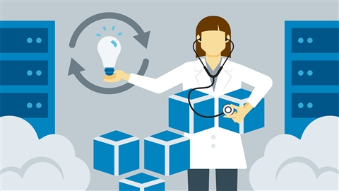 course illustration for Amazon Web Services: Implementing and Troubleshooting PaaS Products