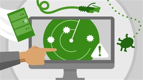 course illustration for CySA+ Cert Prep: 2 Vulnerability Management