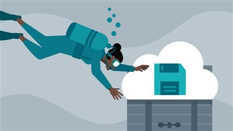 course illustration for Azure Storage Deep Dive for Developers