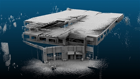 course illustration for FARO SCENE 3D Laser Scan Registration