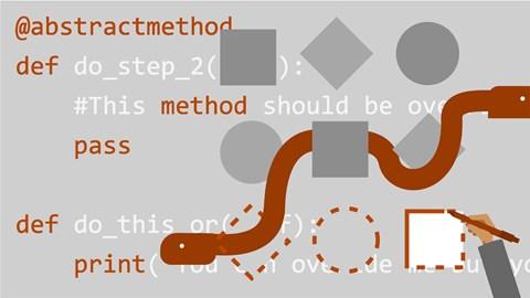 course illustration for Python: Advanced Design Patterns
