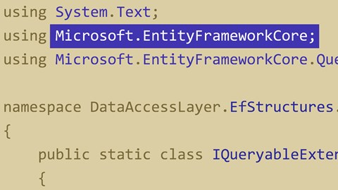 course illustration for Entity Framework Core Essential Training: 1