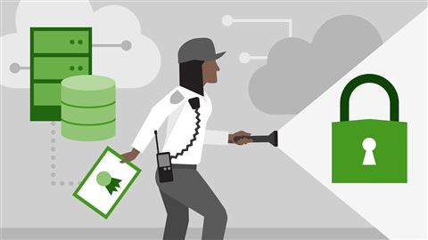 course illustration for CompTIA Cloud+ (CV0-002) Cert Prep: 2 Security