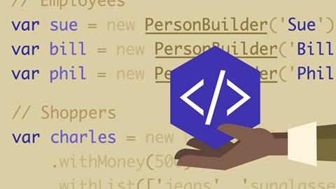 course illustration for Node.js: Design Patterns