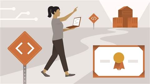 course illustration for Developer Career Paths and Certifications