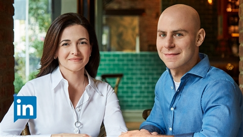 course illustration for Sheryl Sandberg and Adam Grant on Option B: Building Resilience