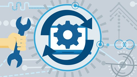 course illustration for DevOps Foundations: Site Reliability Engineering