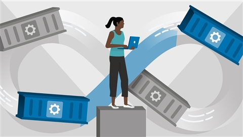 course illustration for Docker: Continuous Delivery