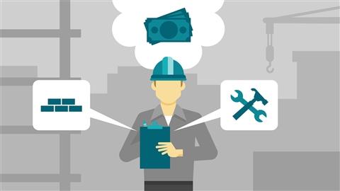 course illustration for Construction Estimating Bid Recap