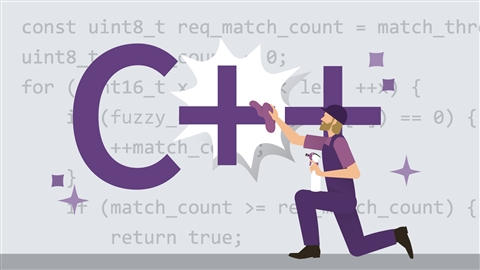 course illustration for Code Clinic: C++
