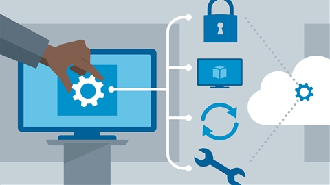course illustration for Windows 10 for IT Pros Essential Training