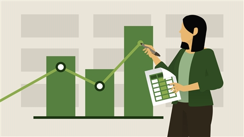 course illustration for Excel: Tracking Data Easily and Efficiently