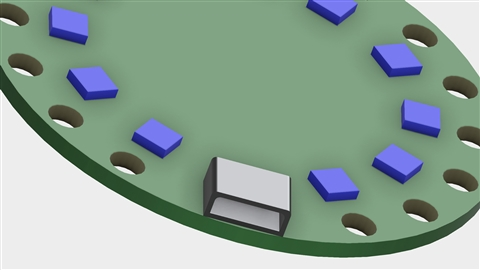 course illustration for Fusion 360: Basic Part Modeling