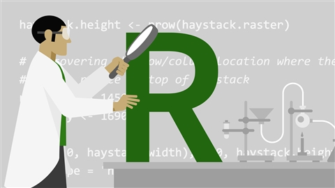 course illustration for Code Clinic: R