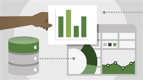 course illustration for Power BI Essential Training