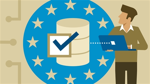 course illustration for Microsoft 365: Achieving GDPR Compliance