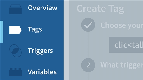 course illustration for Learning Google Tag Manager