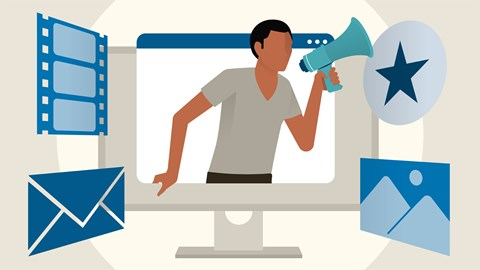 course illustration for Online Marketing Foundations