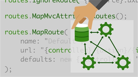 course illustration for ASP.NET MVC: Building for Productivity and Maintainability