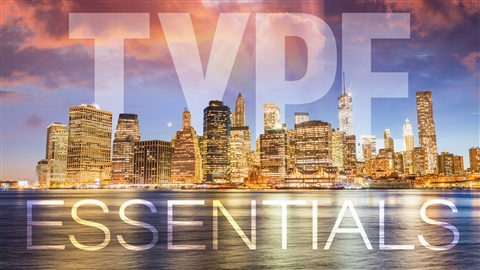 course illustration for Photoshop for Designers: Type Essentials