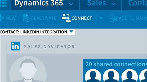 Dynamics 365: LinkedIn Sales Navigator Integration