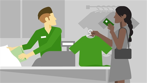 course illustration for Job Skills: Learning Retail Sales