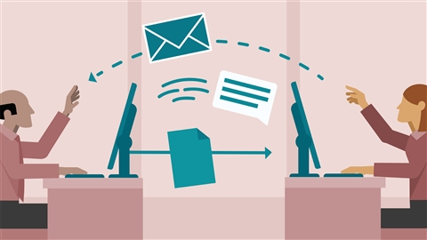 course illustration for Business Collaboration in the Modern Workplace
