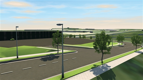 course illustration for InfraWorks 2019 Essential Training