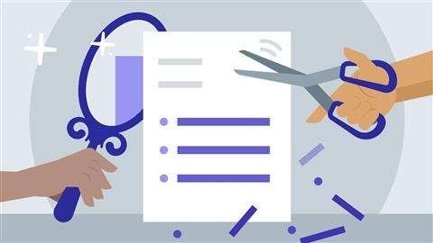 course illustration for Resume Makeover
