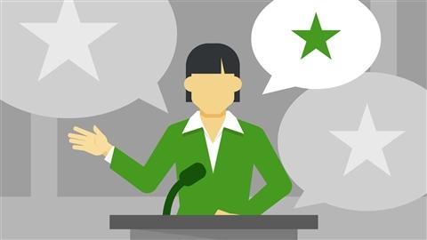 course illustration for Establishing Credibility as a Speaker