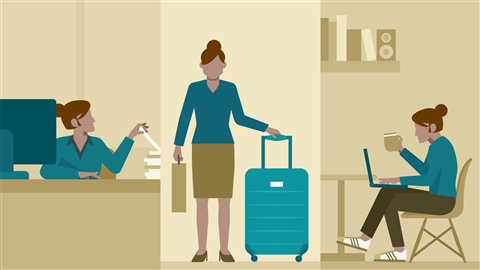 course illustration for Working as a Contract or Temporary Employee