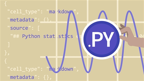 course illustration for Python Statistics Essential Training