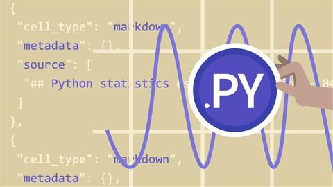 course illustration for Python Statistics Essential Training