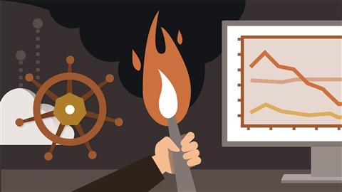 course illustration for Kubernetes: Monitoring with Prometheus