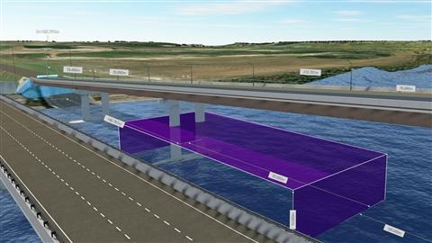 course illustration for InfraWorks: Bridge Design