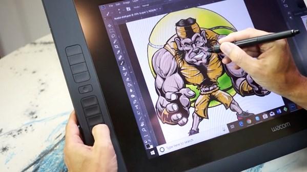 Wacom Tablet Customizing Expresskeys