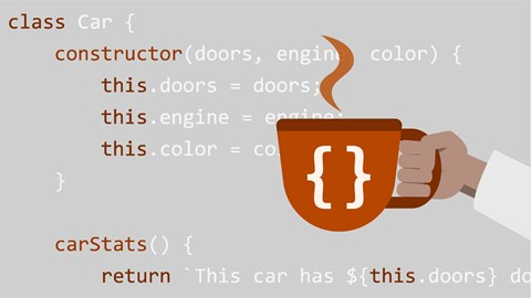 course illustration for JavaScript: Classes