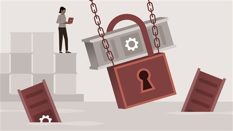 course illustration for Docker Essential Training: 6 Security