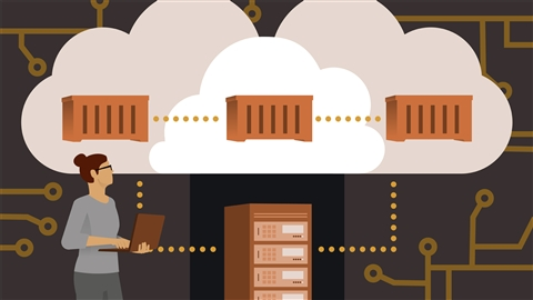 course illustration for Docker Essential Training: 5 Networking