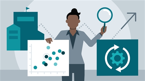 course illustration for Lean Six Sigma: Analyze, Improve, and Control Tools