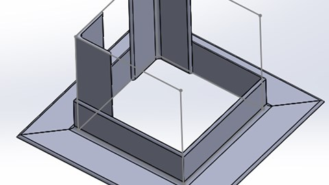 course illustration for SOLIDWORKS: Sketching