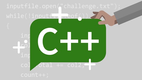 course illustration for Learning C++
