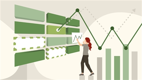 course illustration for Excel Essential Training (Office 365/Microsoft 365)