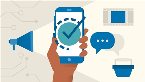 course illustration for Mobile Marketing Foundations