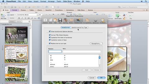 PowerPoint For Mac 2011 Essential Training