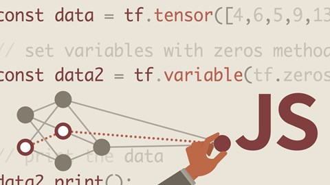 course illustration for Learning TensorFlow with JavaScript