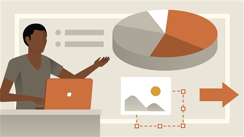 course illustration for PowerPoint Essential Training (Office 365)